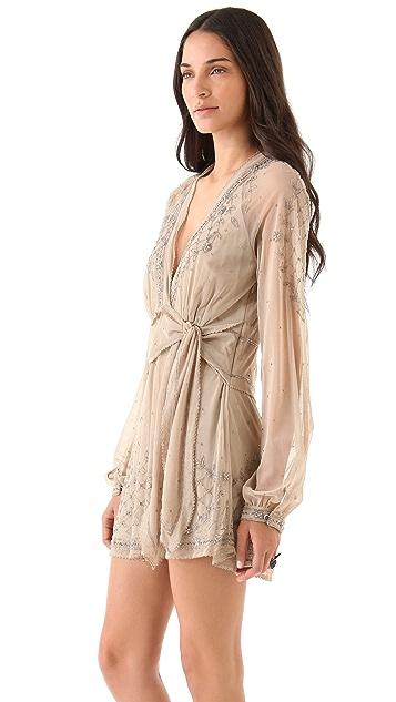 Sheri Bodell Carraway Beaded Mini Dress