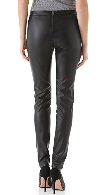 Shine Dowenne Faux Leather Pants