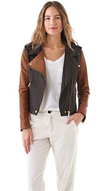 Shine Marlon Leather Jacket