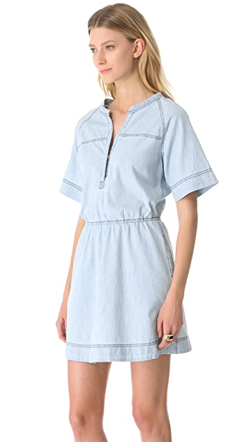 Shine Clapton Denim Tunic Dress