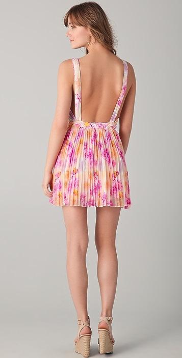 6 Shore Road Route 27 Bustier Mini Dress