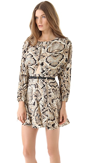 6 Shore Road Night Hawk Cutout Mini Dress