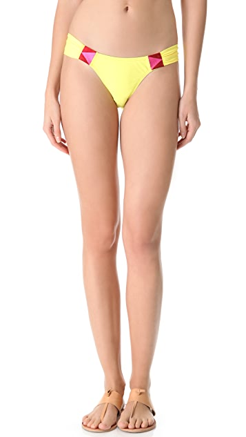 nadii Rockhouse Embroidered Bikini Bottoms
