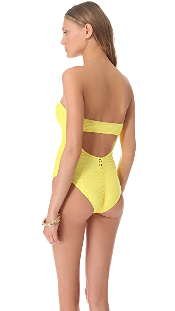 6 Shore Road Marina One Piece Swimsuit