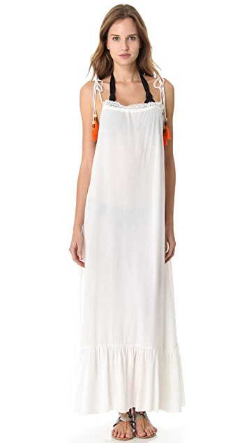 6 Shore Road Monsoon Cover Up Maxi Dress