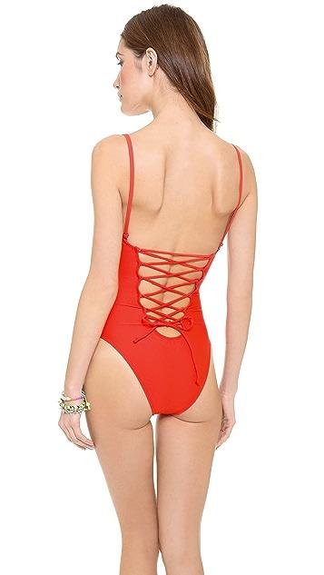 6 Shore Road Wild Tide One Piece Swimsuit