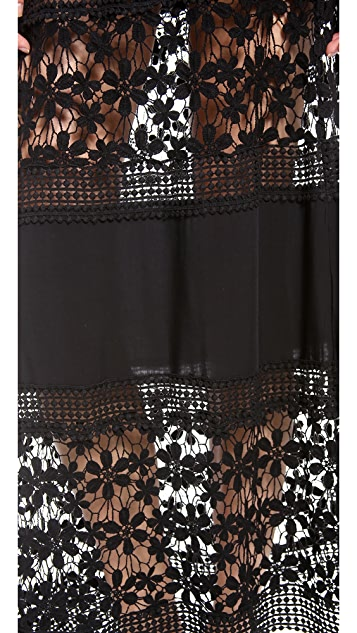6 Shore Road Charlotte Cover Up Maxi Dress