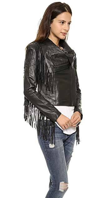 6 Shore Road Riders Leather Jacket