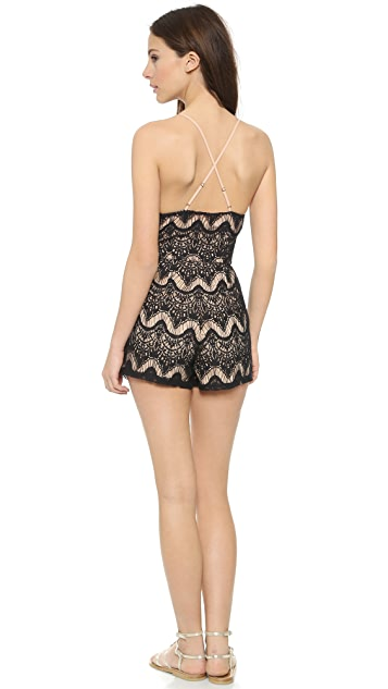 6 Shore Road Colonial Lace Romper