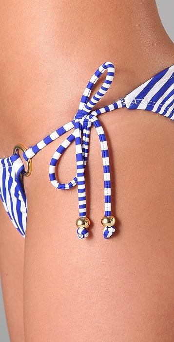 Shoshanna Mitre String Bikini Bottoms