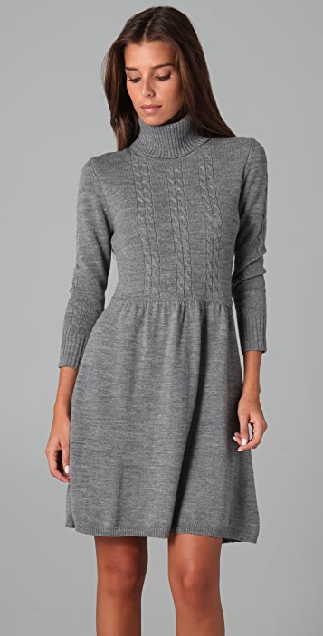 Shoshanna Turtleneck Sweater Dress