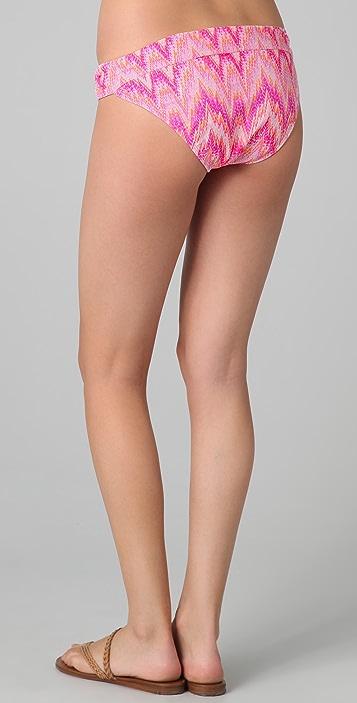 Shoshanna Sand Dune Solid U Bikini Bottoms