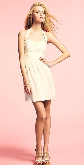 Shoshanna Nina Halter Dress