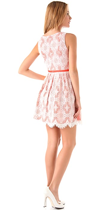Shoshanna Lace Matina Dress