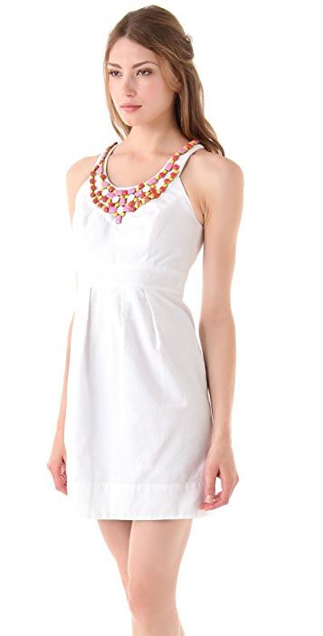 Shoshanna Melissa Beaded Dress