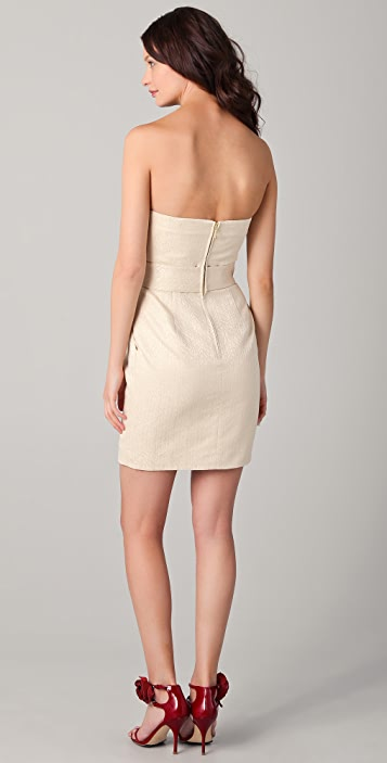 Shoshanna Sylvie Strapless Dress