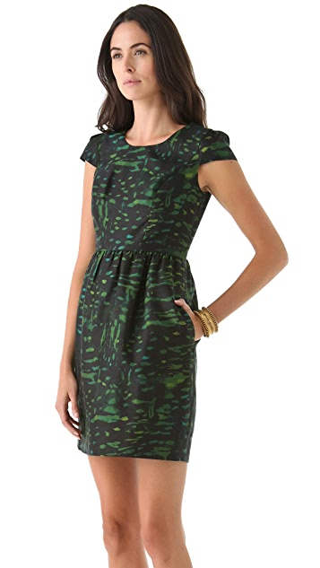 Shoshanna Antonia Print Dress