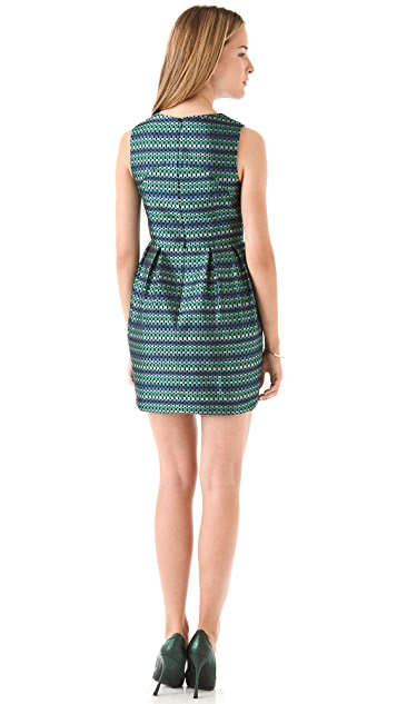 Shoshanna Veronica Jacquard Dress