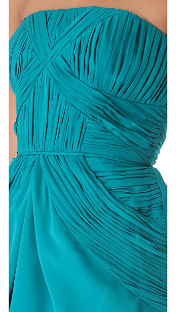 Shoshanna Nahla Strapless Dress