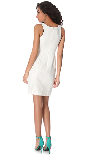 Shoshanna Diana Crepe Sheath Dress