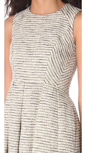 Shoshanna Bridgette Metallic Dress