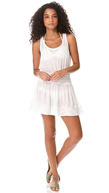 Shoshanna Azalea Embroidered Cover Up Dress