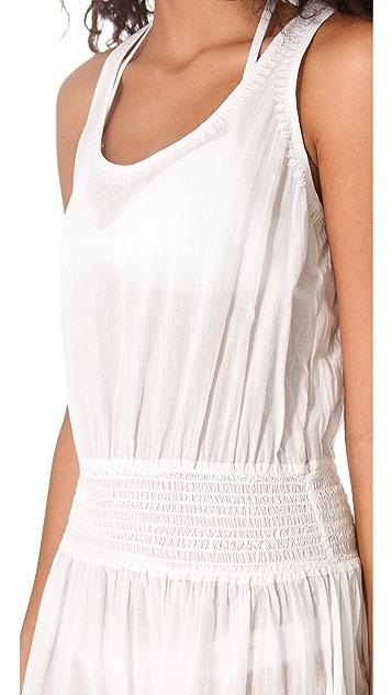 Shoshanna Azalea Embroidered Cover Up Dress