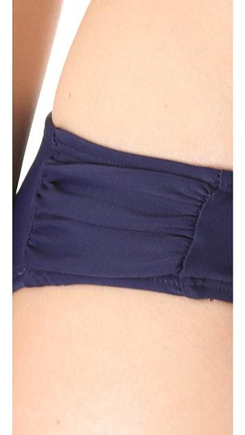 Shoshanna Navy Bikini Bottoms
