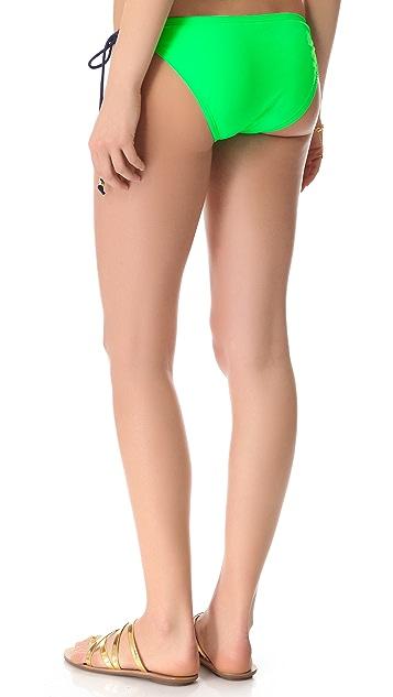 Shoshanna Beaded String Bikini Bottoms