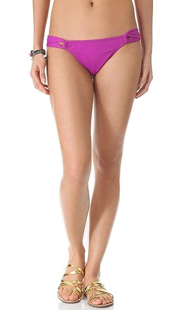 Shoshanna Ultraviolet Bikini Bottoms