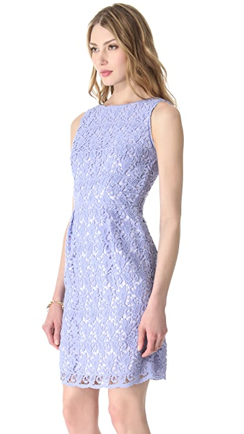Shoshanna Nyla Lace Sheath Dress