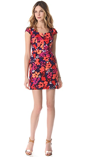 Shoshanna Christina Floral Sheath Dress