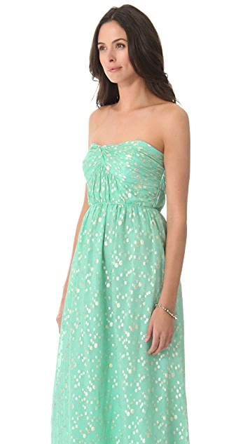 Shoshanna Jennifer Strapless Maxi Dress
