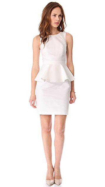 Shoshanna Alexa Peplum Dress