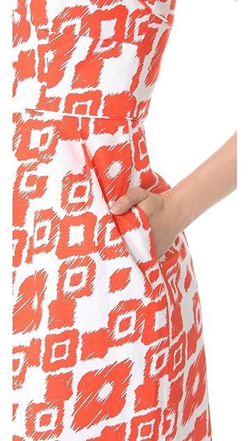 Shoshanna Gwendolyn Strapless Dress