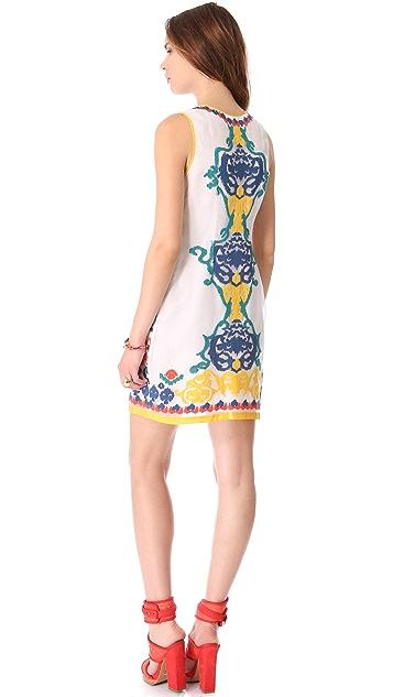 Shoshanna Embroidered Nadera Dress