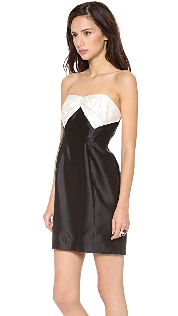 Shoshanna Stella Strapless Dress