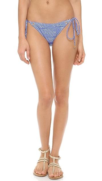 Shoshanna Corfu Print Bikini Bottoms