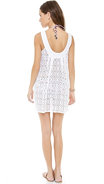 Shoshanna Wilson Lake Eyelet Cover Up