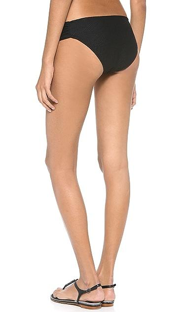 Shoshanna Tropezian Texture Bikini BottomS