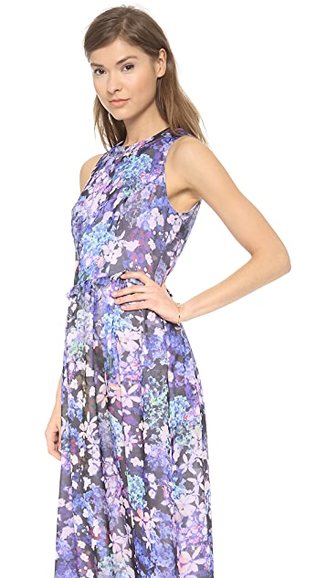 Shoshanna Alexia Printed Maxi Dress
