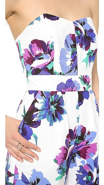 Shoshanna Kennedy Floral Romper