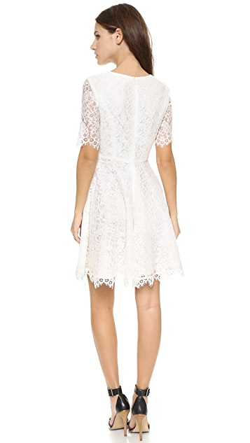 Shoshanna Lace Carmen Dress