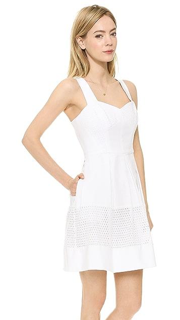 Shoshanna Combo Serena Dress