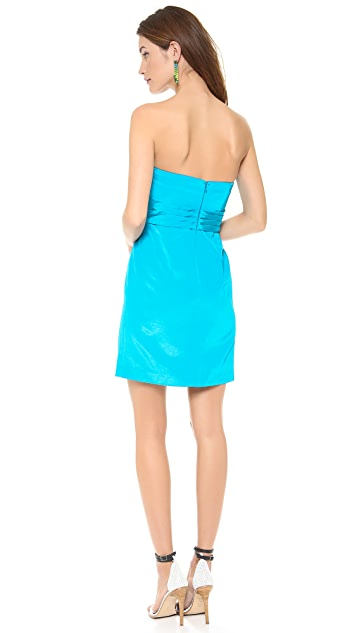 Shoshanna Kira Strapless Dress