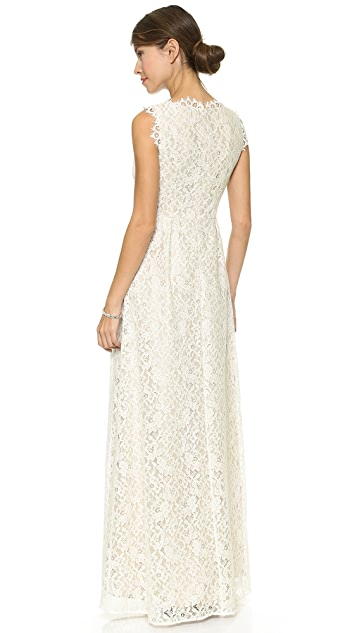 Shoshanna Lace Sierra Gown