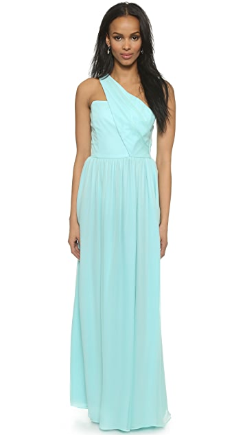 Shoshanna Shoshanna Midnight Rosa Gown