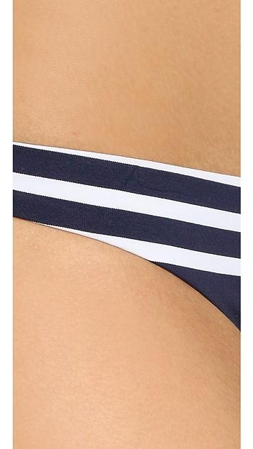 Shoshanna Striped Jersey Classic Bottoms