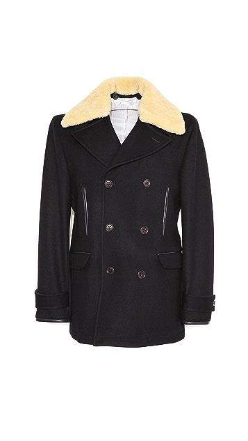 Shipley & Halmos Farrand Pea Coat