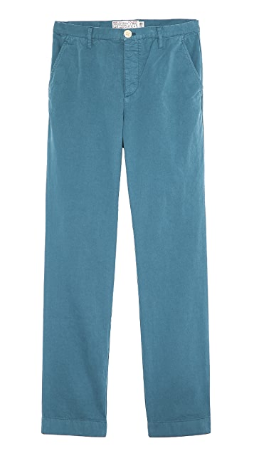 Shipley & Halmos Belmont Washed Chinos